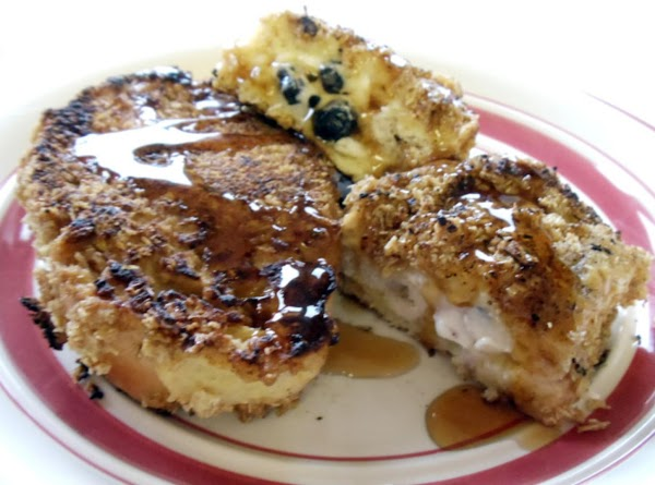 Honey Blueberry Stuffed French Toast Recipe