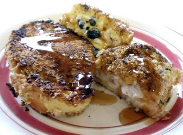 Honey Blueberry Stuffed French Toast