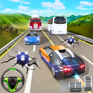 Highway City Traffic Racer 2018: Escape the Bombs