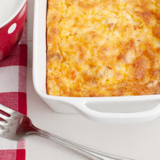 Oven Scrambled Egg And Cheese Bake