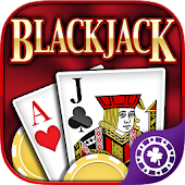 BlackJack 21 FREE + Slots!