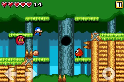 Bloo Kid screenshot 1