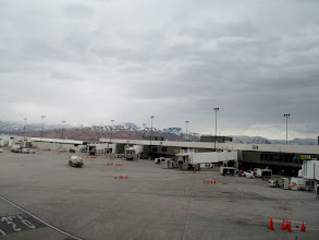 Photo: Waiting to leave SLC
