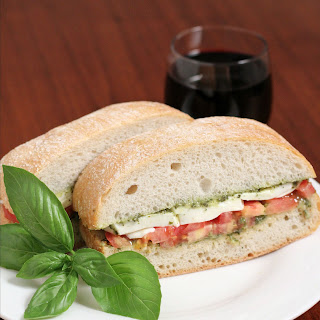 Caprese Sandwiches Recipe