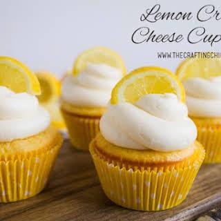 Lemon Cream Cheese Cupcakes.