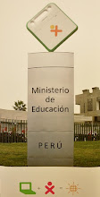 Photo: OLPC XO laptop at the Ministry of Education in Peru