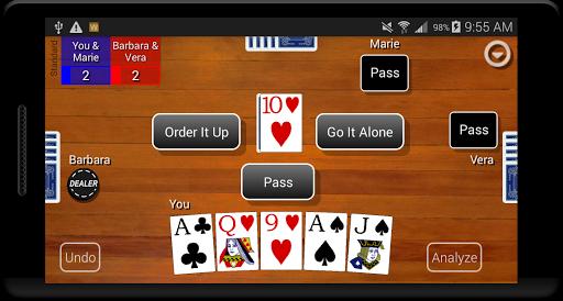Euchre Card Classic 1.1 screenshots 1