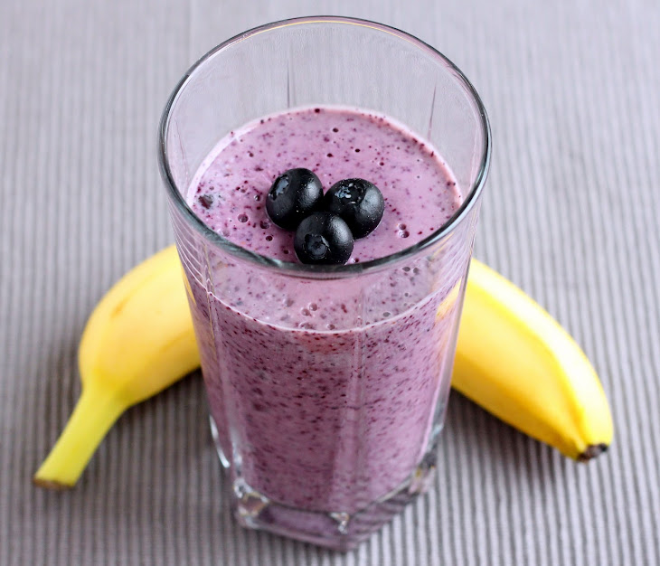Banana Blueberry Oat Smoothie Recipe | Yummly