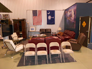 Photo: The lounge area of the Foster/Berry hangar ... a nice place to hang out.
