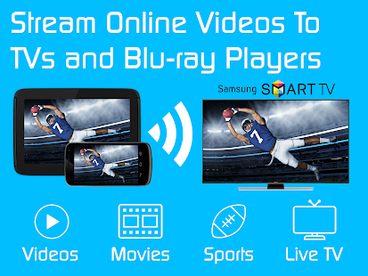 Video & TV Cast + Samsung TV | HD Movie Streaming Screenshot