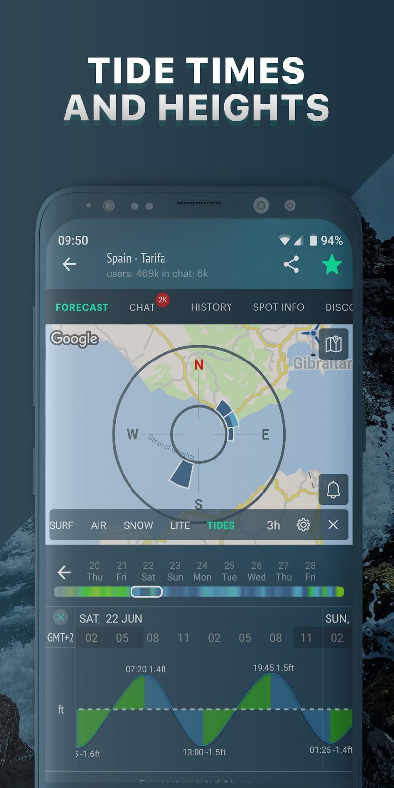 Windy.app: wind forecast & marine weather Screenshot 2