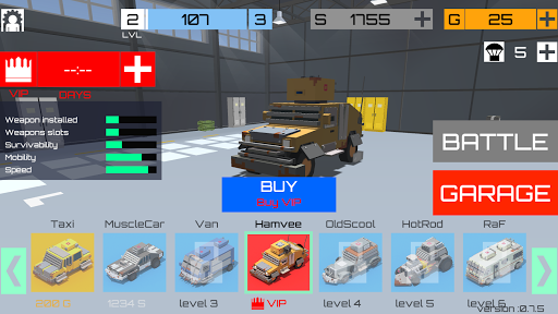 CUBG: car unknown's battle grounds 0.18.0 screenshots 1