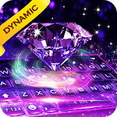 Luxury Diamond keyboard - 3D Live