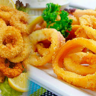 Calamares Recipe ( Fried Squid Rings).