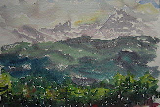 Photo: Dolomitas, 18 x 24 cm, 6-6-06, 220 €