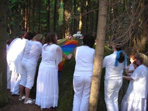 Photo: Erdheilungszeremonie im Waldviertel am Skorpionplatz