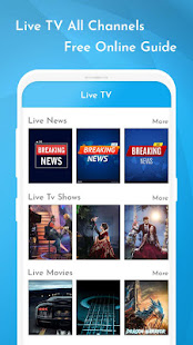 Download Live TV All Channels Free Online Guide For PC Windows and Mac apk screenshot 2