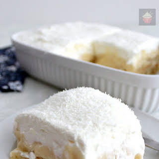 Dreamy Coconut and Pineapple Dessert.