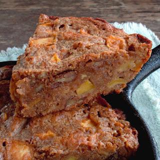 Apple Pecan Skillet Brownie