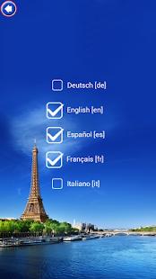 Paris Keyboard Theme screenshot
