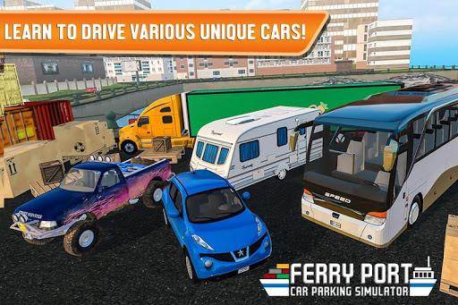 Ferry Port Trucker Parking Simulator apktram screenshots 5