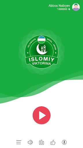 🌙 Islomiy Millioner 2020: O'zbekcha, Savol-Javob apklade screenshots 1