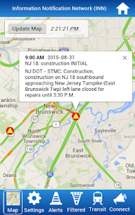 KMM's Traffic Alert App for NJ- screenshot thumbnail