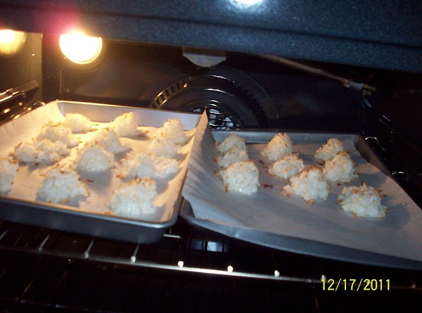 Drop by packed tablespoons or packed scoop onto parchment lined cookie sheet(cookies will not...