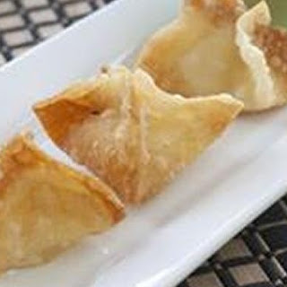 Scallop Rangoon (Chinese Dumplings).