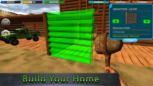Crafting Island Survival 1.3.7 APK MOD screenshots 1
