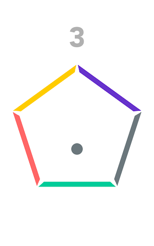 android Insane Bounce-Spinny Circle Screenshot 3
