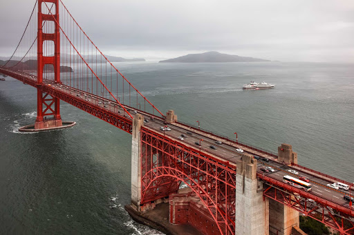 Ponant-Le-Boreal-San-Franciscogg2.jpg - Sail beneath the Golden Gate Bridge on Ponant's Le Boreal.