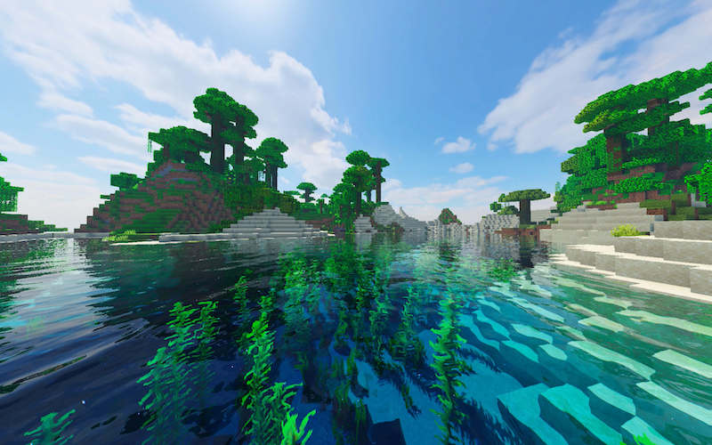 Minecraft game built using Java