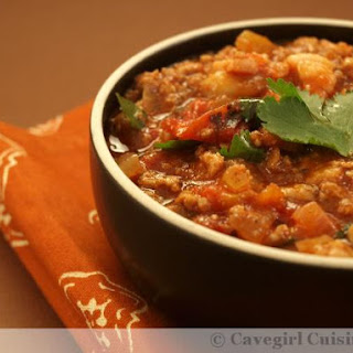 Bad-Ass Beef and Pork Chili (slow cooker).