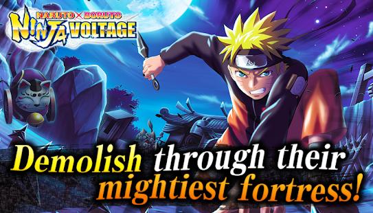Ninja Boruto X Naruto Battle Voltage - náhled