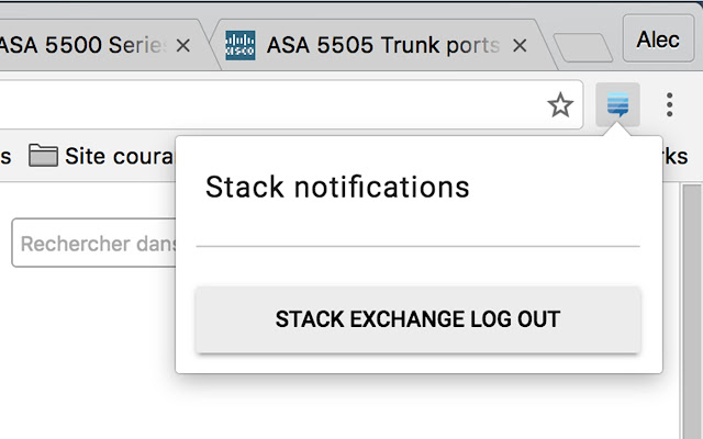 Stack notifications