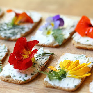 CANOPY  with  EDIBLE  FLOWERS Recipe
