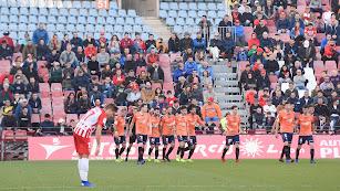 José Corpas se lamenta del gol de Osasuna en el año 2019.