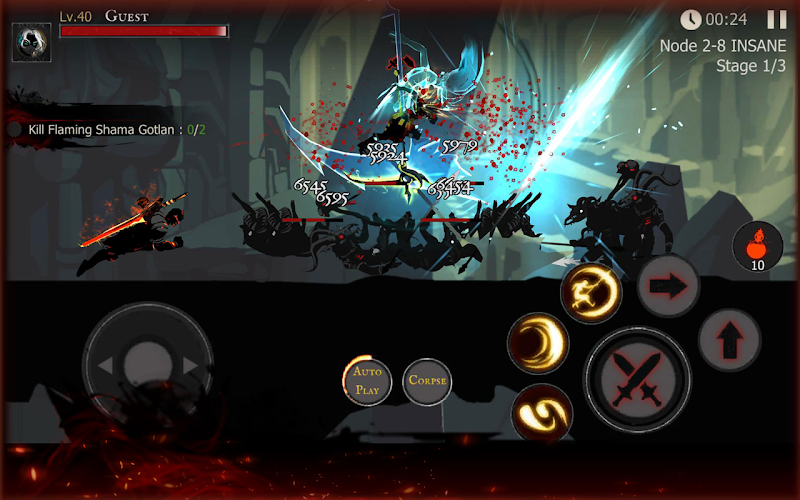 Shadow of Death: Dark Knight - Stickman Fighting Screenshot 3