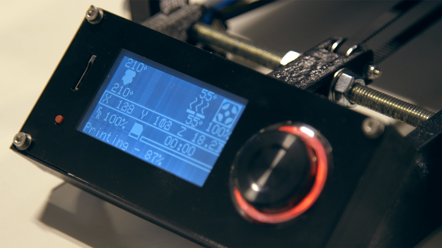 Set the bed to the proper temperature to have an exceptional hold on your 3D print.