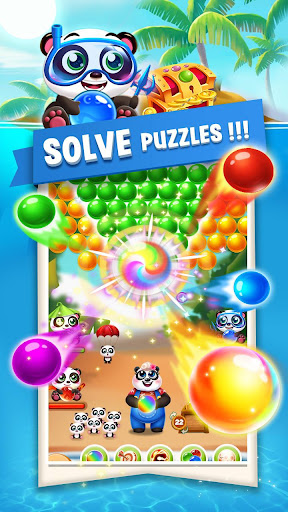 Bubble Shooter Sweet Panda android2mod screenshots 1