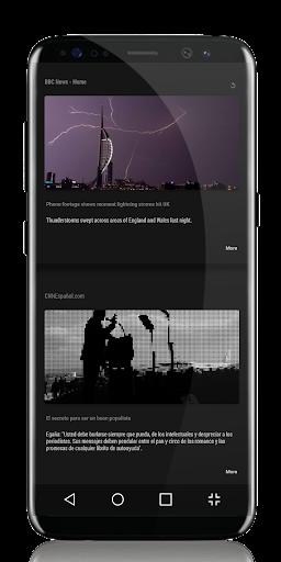 Ligth UI Kustom Pro 1/Klwp screenshot 8