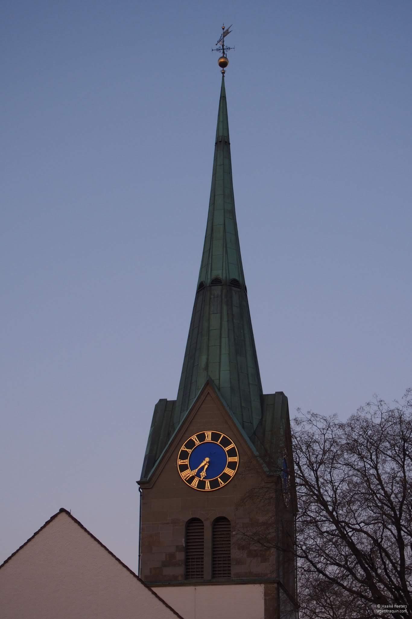Kirche Winterthur-Wülflingen (Le petit requin)