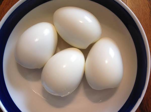 Perfect Hard Boiled Eggs (easy Peeling) Recipe