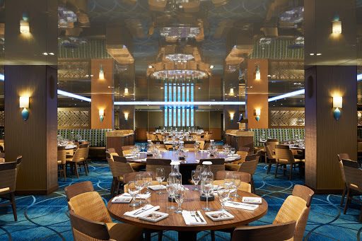 carnival-vista-Reflections.jpg - Reflections, one of two main dining rooms on Carnival Vista, seats up to 702 people.