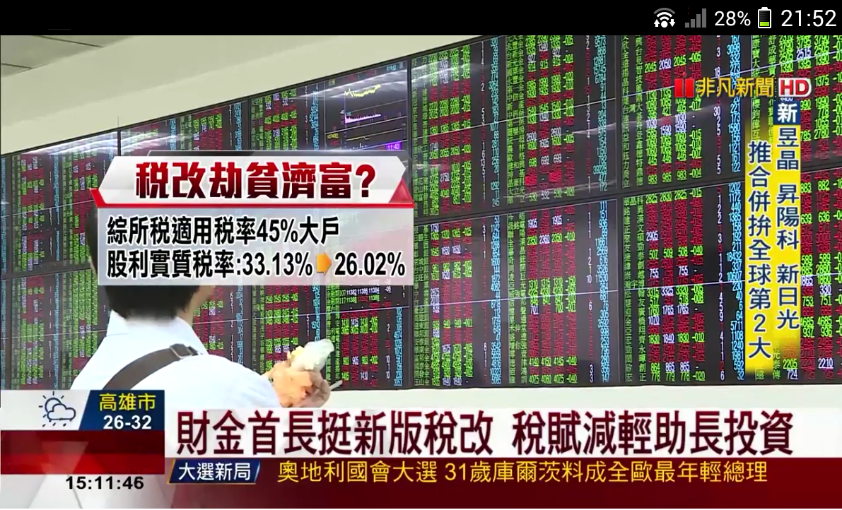 Finance TV- screenshot