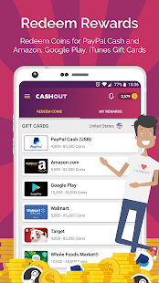 CashOut: Earn Cash and Gift Cards - náhled
