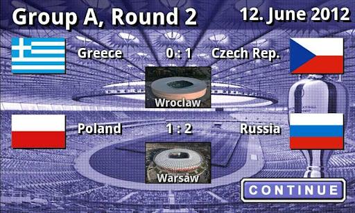 EURO 2012 Football/Soccer Game 1.0.5 screenshots 7