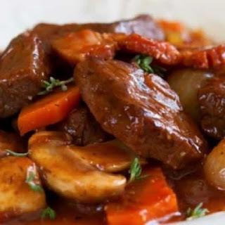 Slow Cooker Waldorf Astoria Beef Stew.
