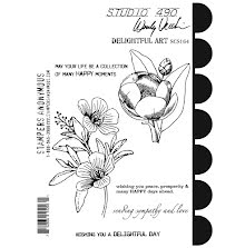 Wendy Vecchi Cling Stamps - Delightful Art